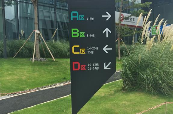工业园区标识系统-路牌指示标识