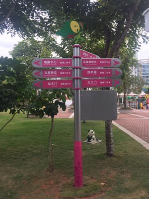 儿童乐园标识系统